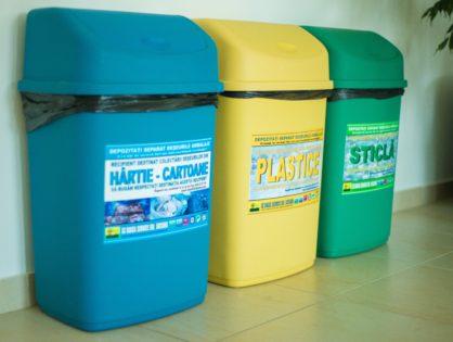 Hârtie, sticlă, plastic = gunoi?